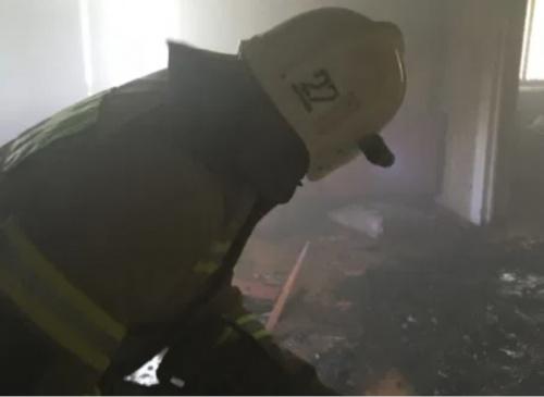 На пожаре в Красногвардейском районе спасен человек