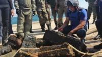 В Крыму на затопленном теплоходе «Жан Жорес» нашли более 8,5 тысяч снарядов