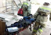 Спасатели Евпаторийского АСО ГКУ РК «КРЫМ-СПАС» совершенствуют навыки по ликвидации ЧС на объекте повышенной опасности