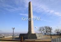 В Керчи ограничат проезд на верхнюю площадку Митридата - территорию у Обелиска Славы