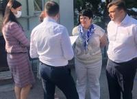 Константин Шимановский посетил Никитскую среднюю школу и поселковый детский сад