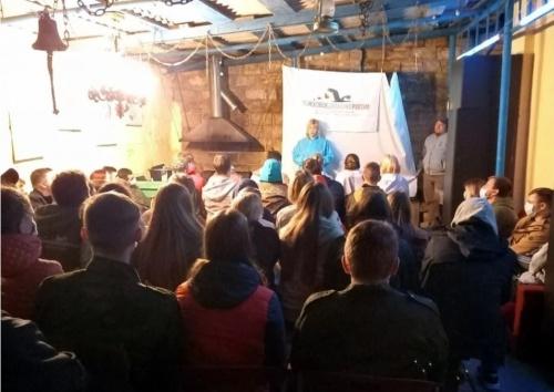 В Керчи открылась «Студенческая вахта памяти»
