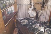 В Симферополе горел пятиэтажный дом