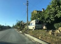 В Керчи завершается ремонт дорог на Партизанском