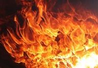 Утром под Симферополем горел жилой дом