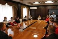 """Спортсмены клуба самбо """"Слава"""" отмечены городскими наградами"""