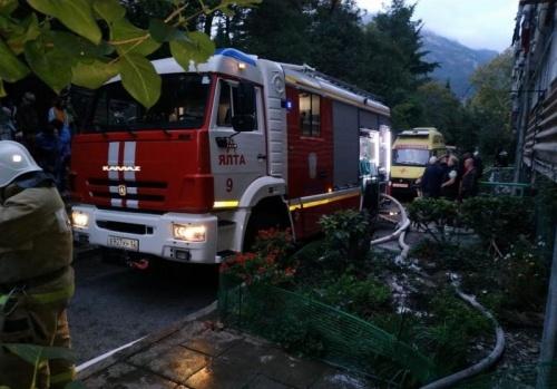 Женщина погибла на пожаре в Крыму