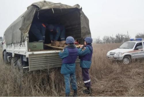 Одиннадцать авиабомб нашли и уничтожили в Ленинском районе