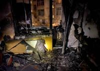 Девушка выпрыгнула в окно во время пожара в Севастополе