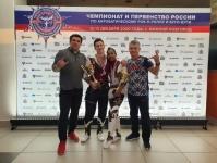 Севастопольцы Николай Мальцев и Роксена Ньоне стали серебряными призерами Чемпионата России по акробатическому рок-н-роллу