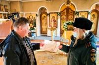 В канун празднования Рождества Христова сотрудники МЧС проводят рейды по севастопольским храмам