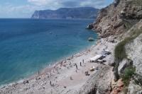 На пляже «Золотой» в Балаклаве возвели незаконные сооружения