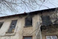 В очередной заброшке Севастополя произошёл пожар