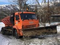 В Ялте продолжают ликвидировать последствия непогоды