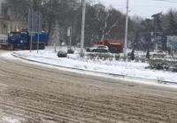 Власти Симферополя потратили на противогололёдный реагент 16 миллионов рублей
