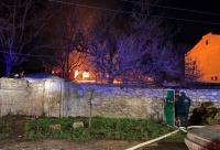 В Севастополе ночью горела крыша