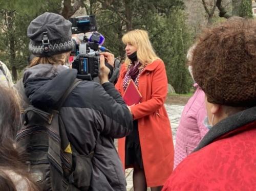 Власти Ялты помешают оформлению участков в Пионерском парке в Алупке