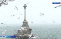 Шторм в Севастополе разбил три участка набережной