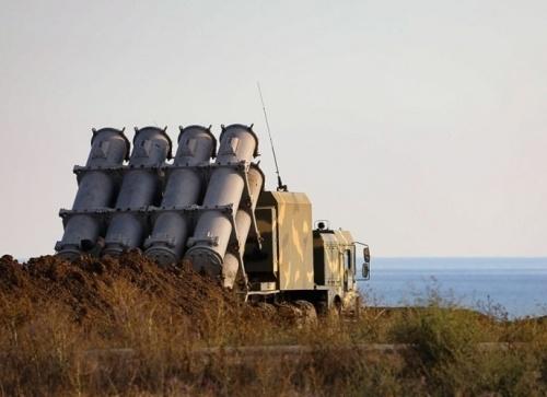 Береговой комплекс «Бал» отработал в Крыму уничтожение корабля противника