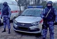 В Евпатории росгвардейцами задержан мужчина, ударивший ножом свою жену и не пускавший к ней медиков