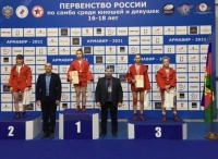 Керченские самбистки с соревнований в Армавире привезли медали
