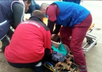 В Крыму женщина упала в смотровую яму и перестала чувствовать ноги