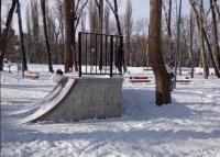 Мужчина сломал ногу в недоремонтированном парке Симферополя
