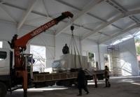 Монтаж модульного спортзала в Алупкинской школе завершат в марте