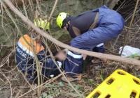 В пгт. Партенит спасали мужчину — упал в реку