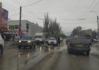На автовокзале в Керчи произошло ДТП с учебным автомобилем