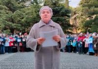 После сообщения о свободном доступе в Форосский парк, ялтинцы обратились к Путину