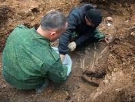 В Севастополе обнаружили останки 17 красноармейцев