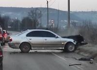 В Севастополе случилось новое лобовое столкновение