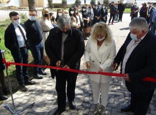 В Евпатории состоялось торжественное открытие Евпаторийского судебного района в историческом здании после реставрации и капитального ремонта