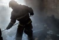 В Саках сгорел этаж в жилом доме