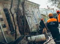 Севастопольские пожарные уберегли дом от взрыва