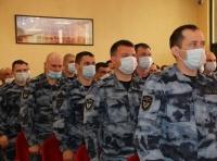 В Керчи чествовали бойцов ОМОН