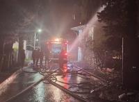 Пожар уничтожил 200 квадратных метров жилого дома в Ялте