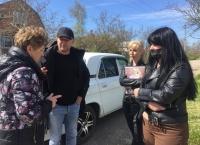 Замглавы администрации Екатерина Федоренко разбиралась в проблемах жителей ул. Котовского