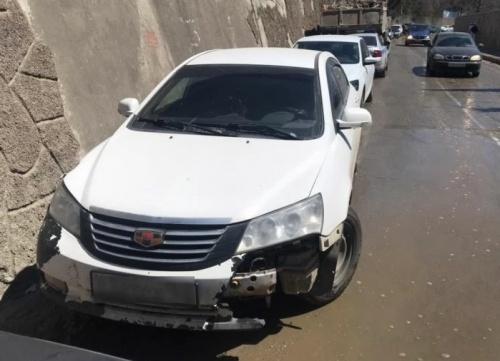 В Ялте сотрудники ГИБДД разыскали водителя, скрывшегося с места ДТП
