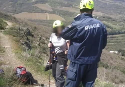 Происшествие на горе Аю-Даг — эвакуировали женщину