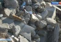 В Севастополе на улице Хрулёва ликвидируют свалку строительного мусора