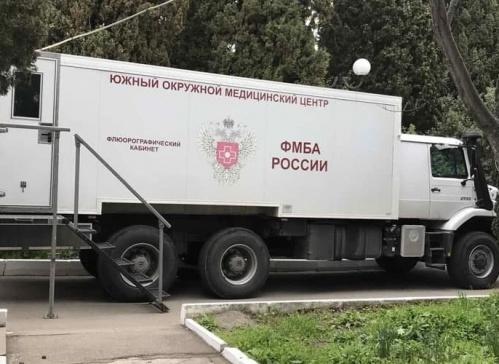 Мобильные маммограф и флюорограф будут еще три месяца работать в Ялте и посёлках региона