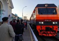 Первый прямой поезд из Москвы прибыл в Феодосию