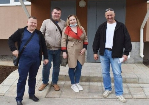 Медики Евпатории получили ключи от служебных квартир
