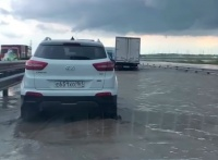 Аксёнов поручил скорректировать проект затопленного накануне участка «Тавриды»