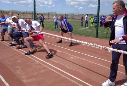 Команда Ленинского района приняла участие в Крымских республиканских летних сельских спортивных играх 2021