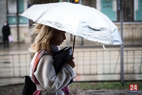 МЧС предупредило жителей Крыма о сильном дожде и ветре