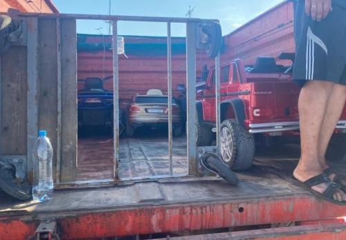 В Ялте у предпринимателей изъяли 15 детских дрифт-каров и 8 электромобилей