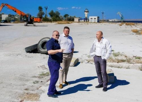 Евгений Кабанов с рабочим визитом посетил Евпаторию
